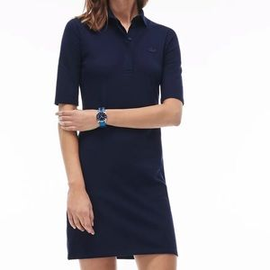 Lacoste polo dress in Navy Size 34/2 New with tag